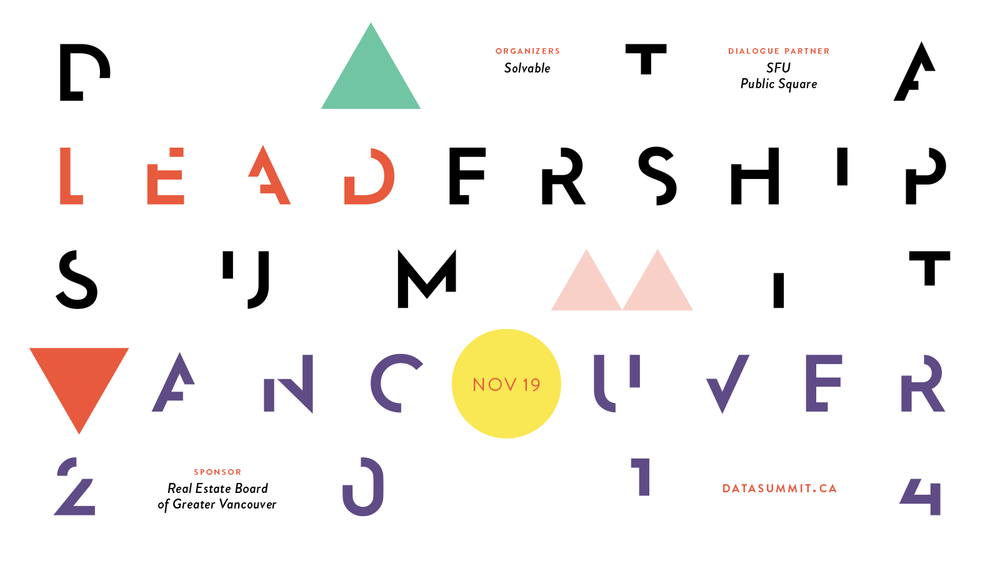 Website Masthead for the Data Leadership Summit