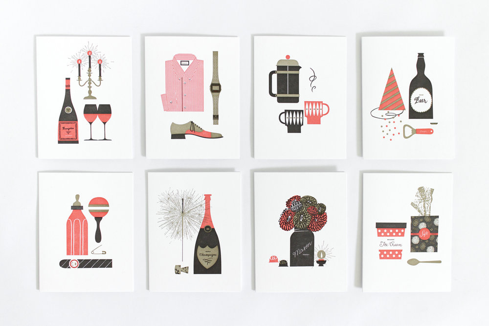 Summer Studio greeting cards