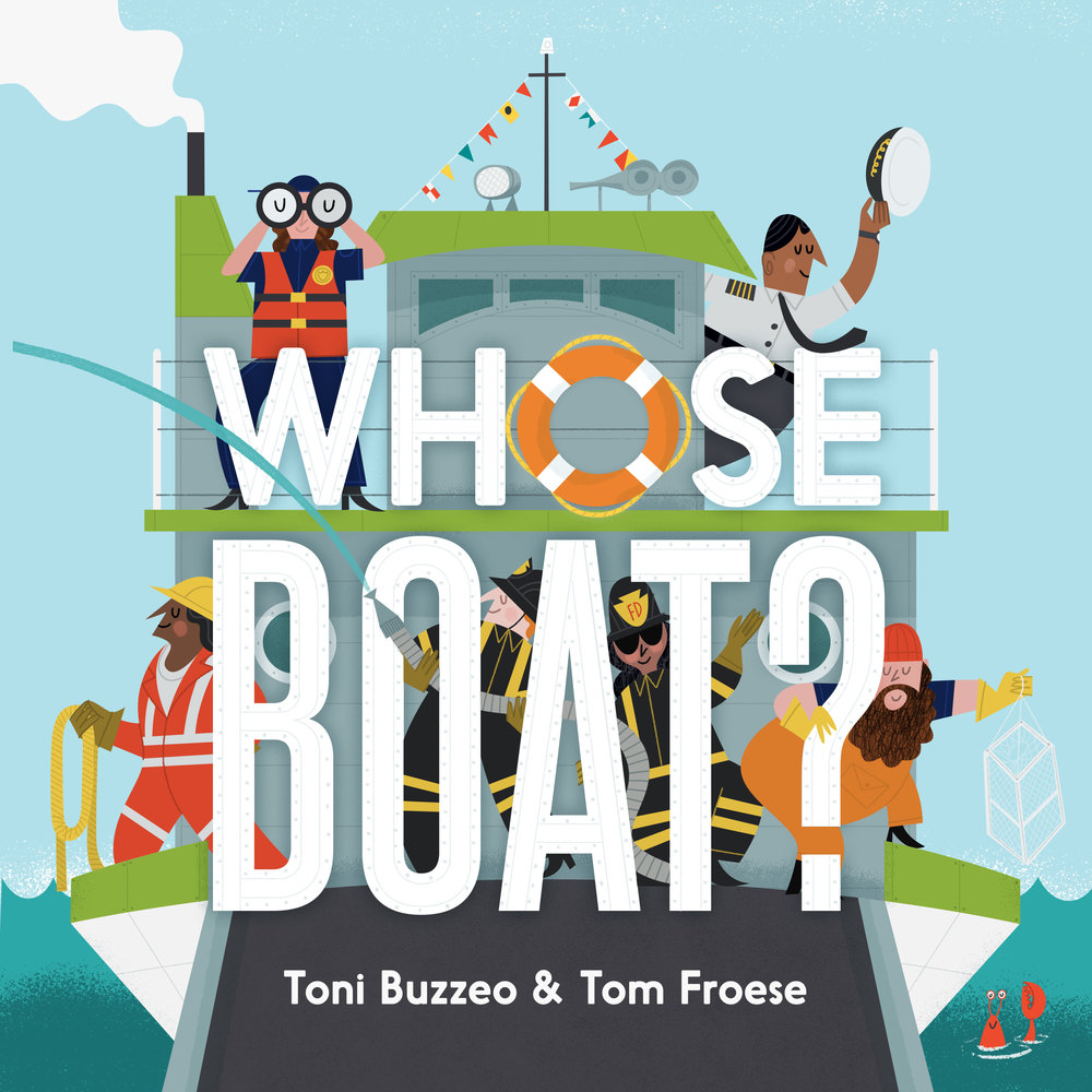 Whose Boat? Cover Art