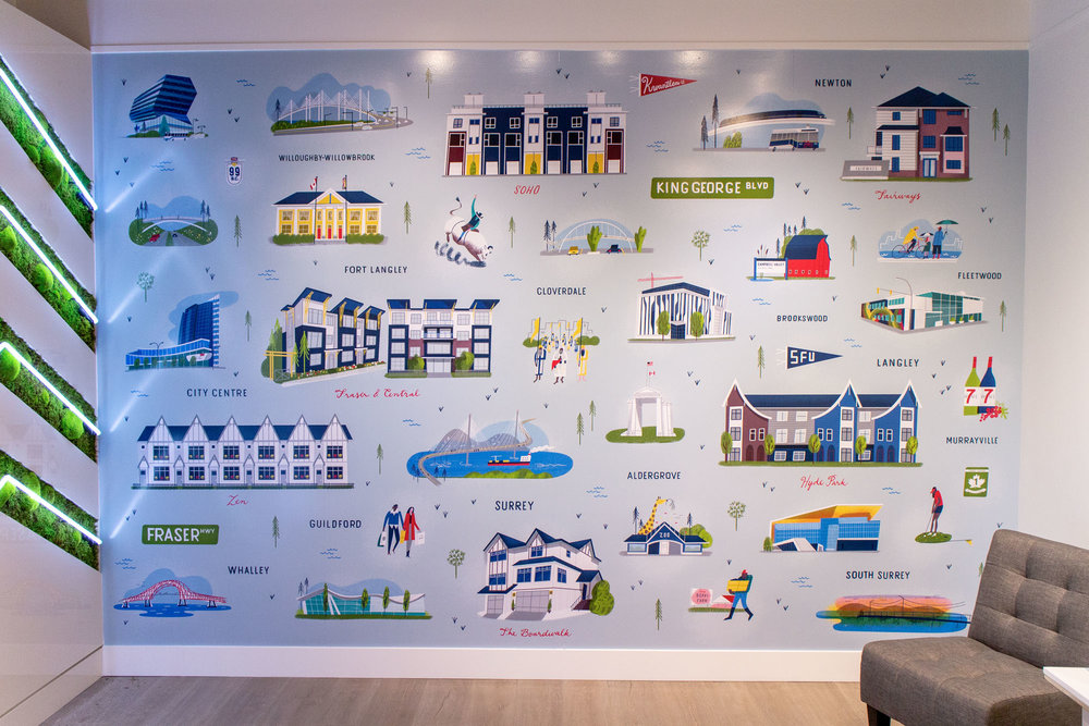 Mural for  Zenterra Developments