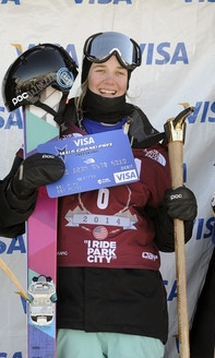 "Winning the AFP Park City ""2"" event in January 2014"