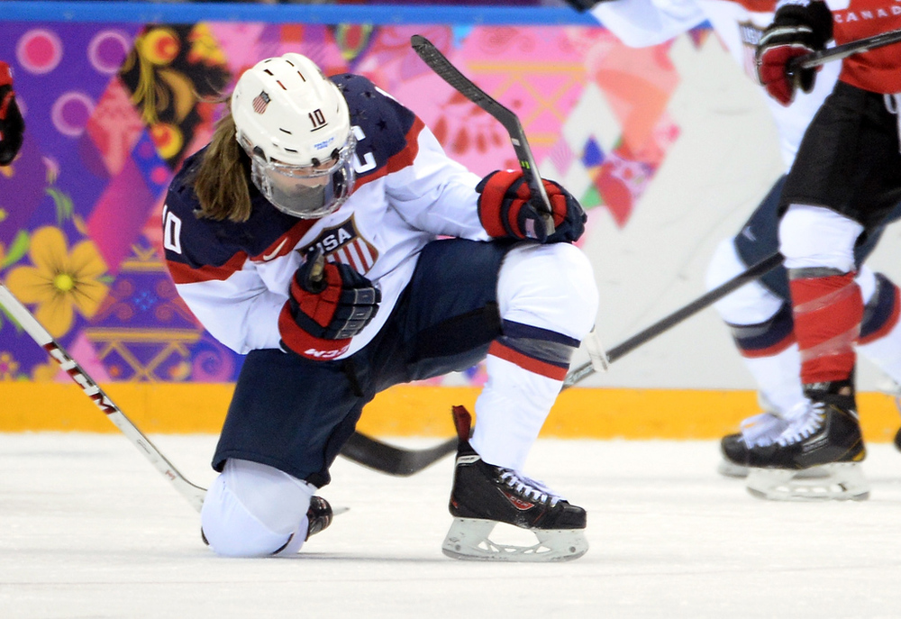 Meghan scored the first game in the Gold Medal game versus Canada on NBC.