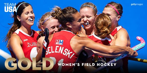 Team USA Field Hockey successfully defended their title at the 2015 Pan Am Games in Toronto with a 2-1 victory over Argentina.