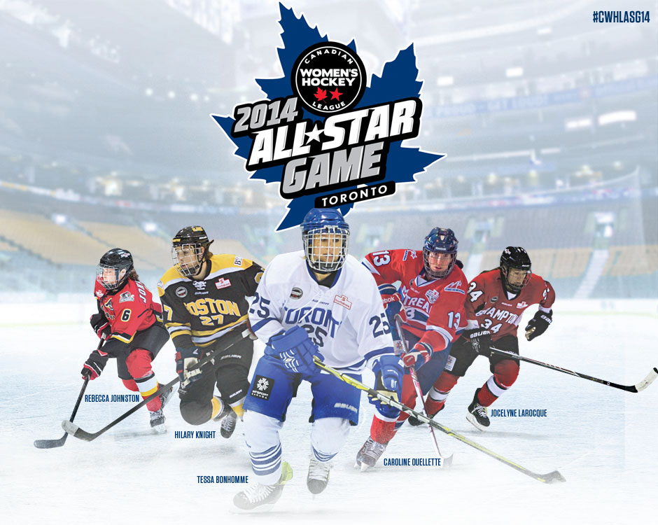 CWHL All Star Game December 2014 - Toronto
