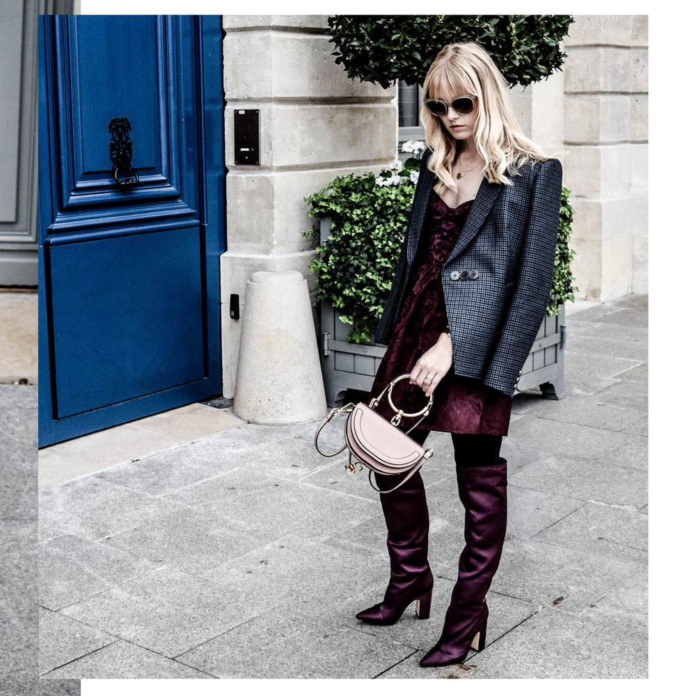 Paris Fashion Week Look - Click her to see the post