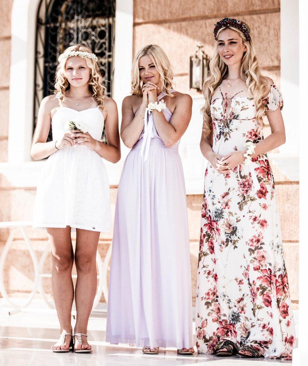 BRIDESMAID DRESSES -