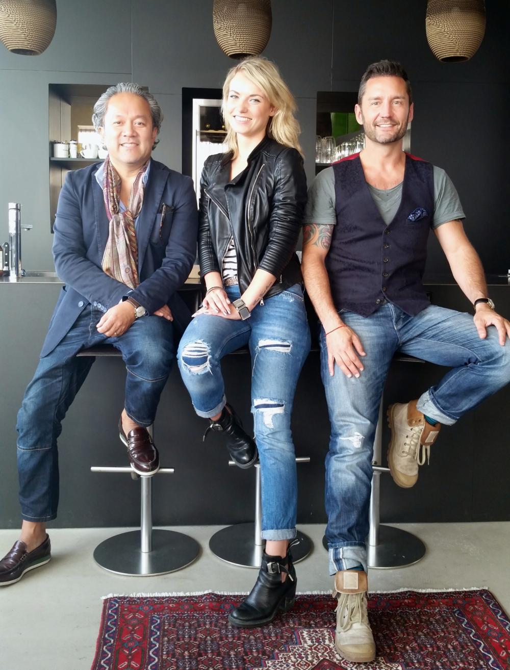 Chris Lapperre, Maryse Pothoven & Bas van den Broecke