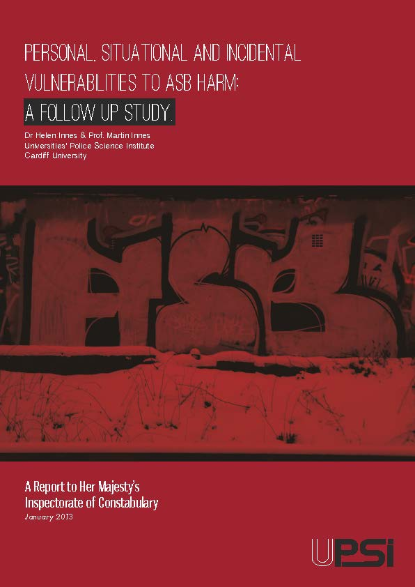 Personal, Situational & Incidental Vulnerabilities to ASB Harm: A Follow up Study