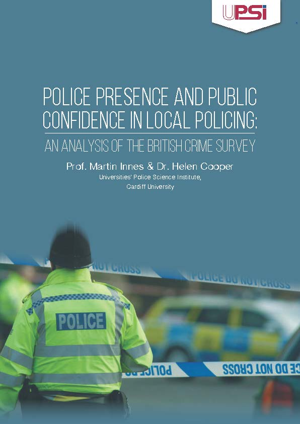 Police Presence & Public Confidence in Local Policing: An Analysis of the British Crime Survey