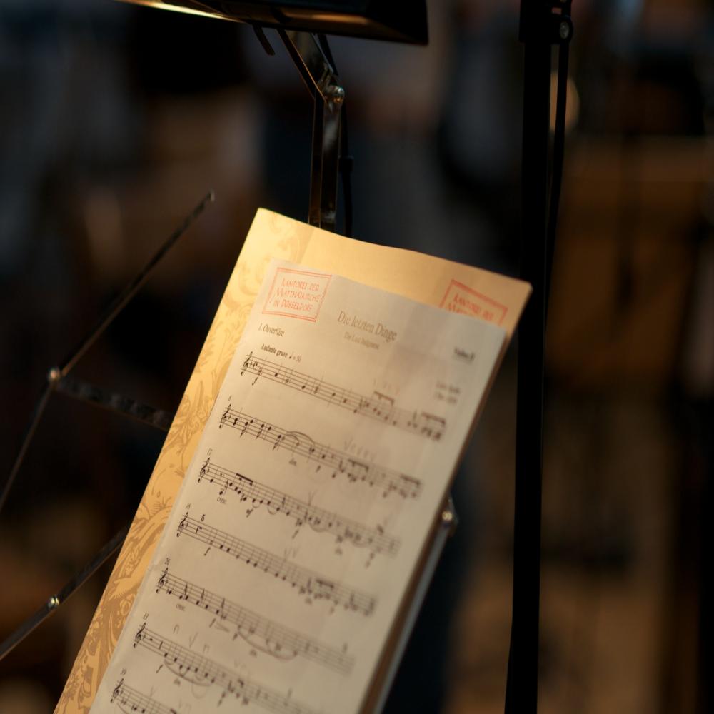 Große Oratoriumsproduktion