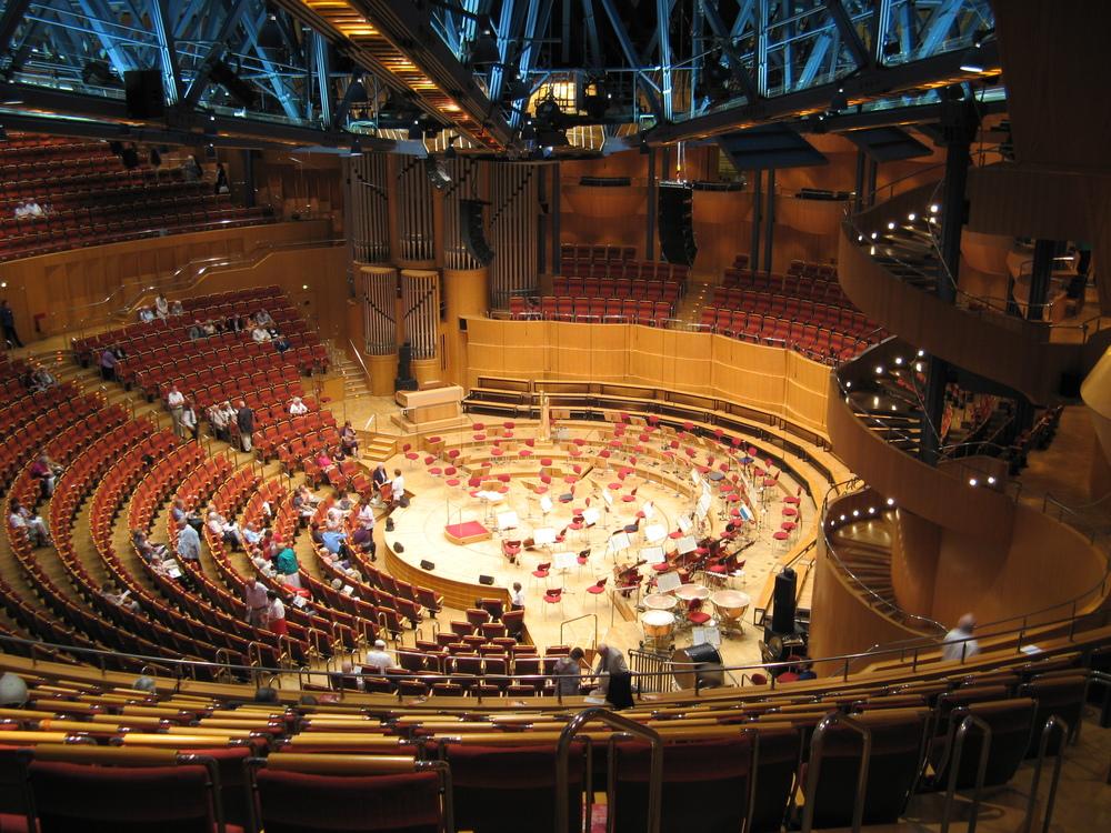 Konzertproduktion in der Kölner Philharmonie