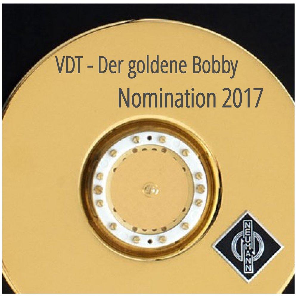 """Nominierung zum """"goldenen Bobby"""" 2017"""