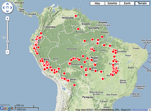 Hundreds of dams are planned or underway in the greater Amazon region