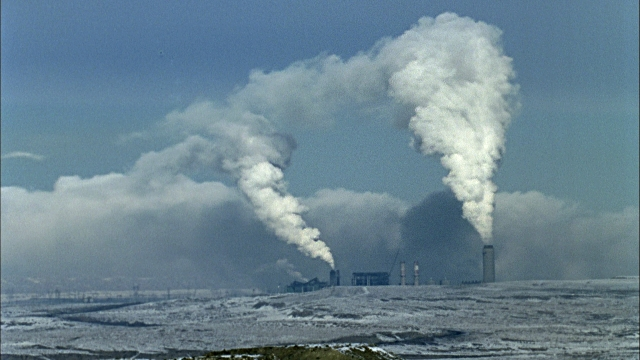 Dirty energy -- coal-fired generating plants are among the biggest global sources of greenhouse gases.