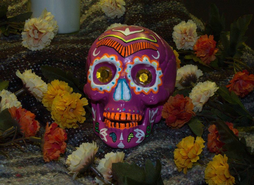 Pink Sugar Skull  $30.00