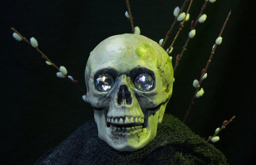Spring Season Skull  $30.00