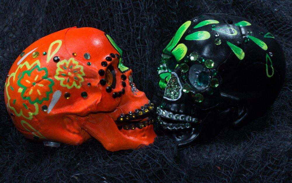 Soul Mates Skulls  $70.00