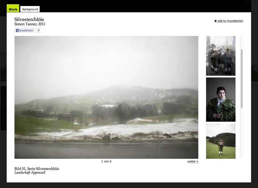 "preisträger in der kategorie ""redaktionelle fotografie"", ewz.selection 2011"