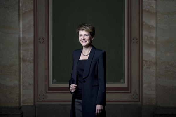 Simonetta Sommaruga, Bundesrätin, in NZZ (11. Dezember 2015)