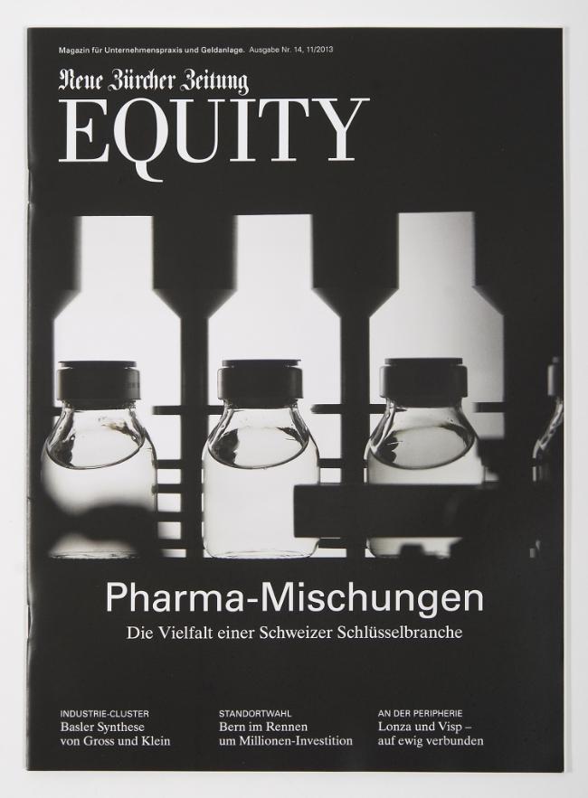 cover für nzz equity magazin, oktober 2013