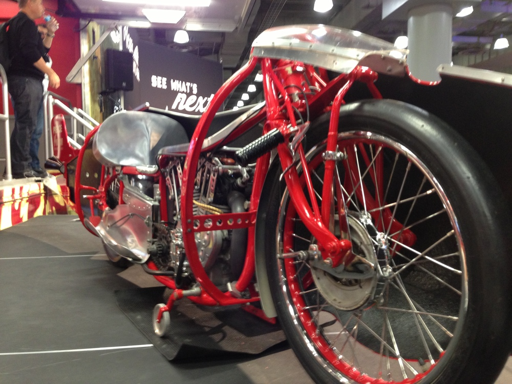 It is always a treat to see something as amazing as the Burt Munro Special.