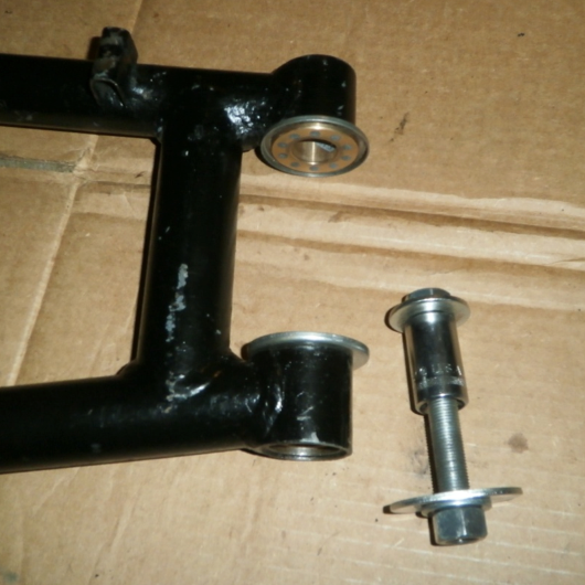 Swingarm and homemade tool setup