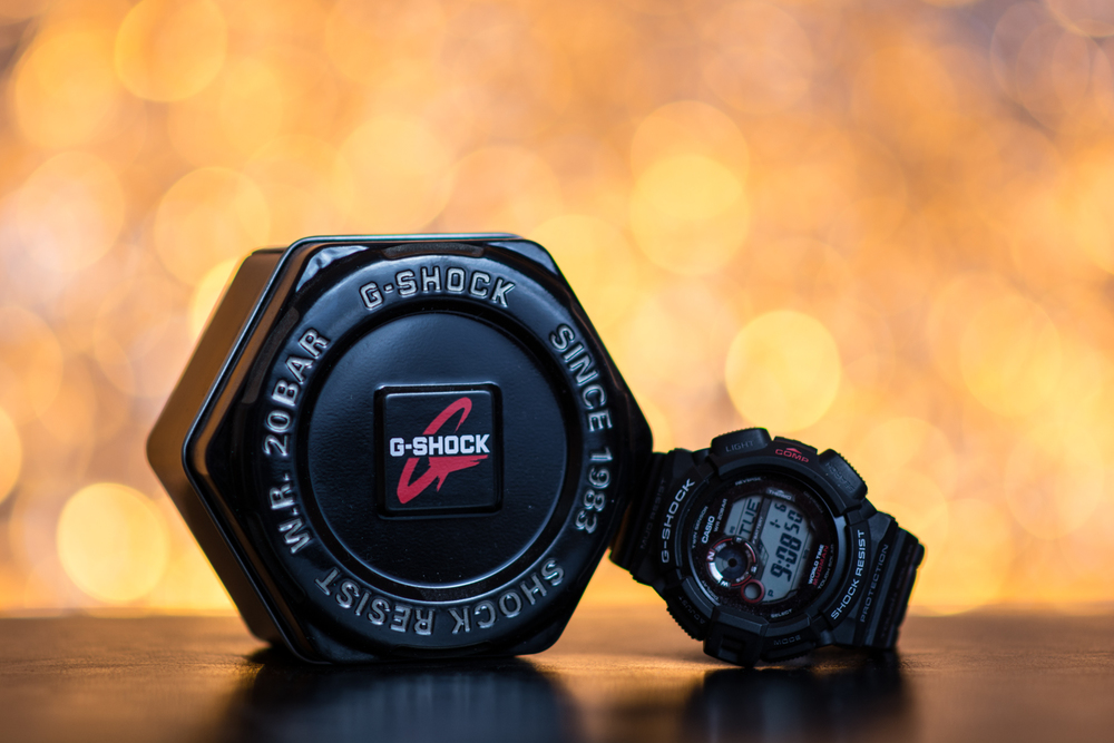 Can't think of a clever title for this one. It's a G-Shock.