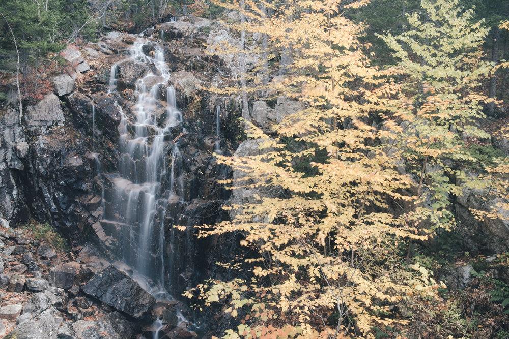 Hadlock Falls, Acadia National Park
