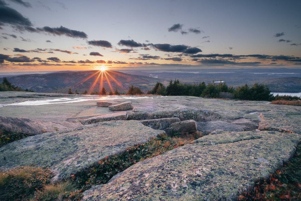 Cadillac Mountain Summit, Acadia National Park