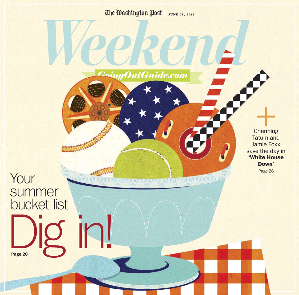 Project: Weekend cover Client: The Washington Post, 2013