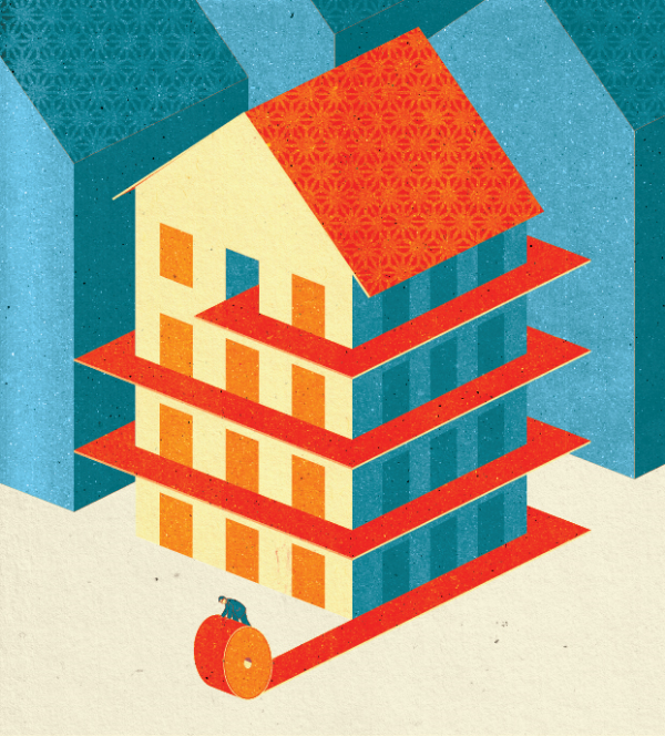 Project:  Luring Prospective Renters.  Client:  Multifamily Executive Magazine, 2014