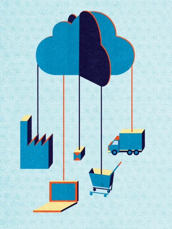 Project:  Cloud Manufacturing.  Client:  Appelberg for EVOLUTION (Business and Technology Magazine from SKF)