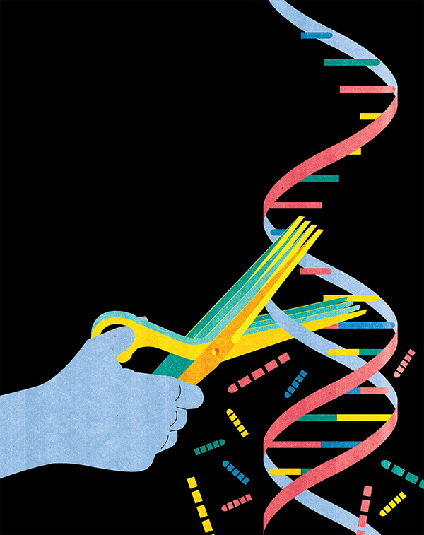 Project:Magazine Cover about RNA Shredding Technology.Client:Unpublished, 2014
