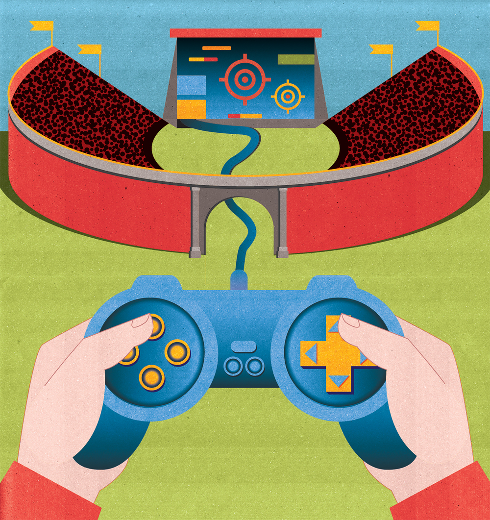 Project: Video games: The Ultimate Spectator Sport? Client: The Wall Street Journal, 2015