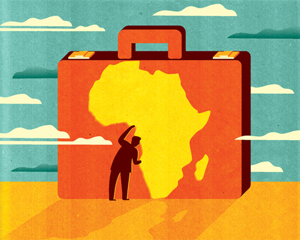 Project: Africa Means Business, Client: b.inspired (monthly inflight magazine by Brussels Airlines), 2017