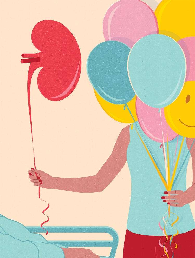 Project:   What You Should Know About Donating an Organ,   Client:   O The Oprah Magazine, 2018
