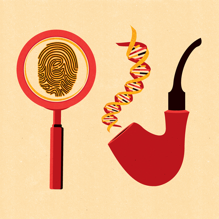 Project:  The history of forensic science: from fingerprints to DNA  Client:  Smithsonian Magazine, 2019