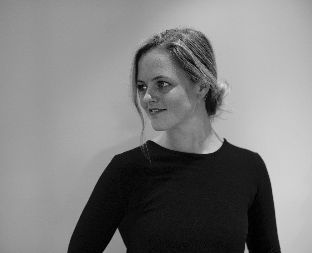 Head shot for Choreographer Marie Ronold Mathisen, 2018.