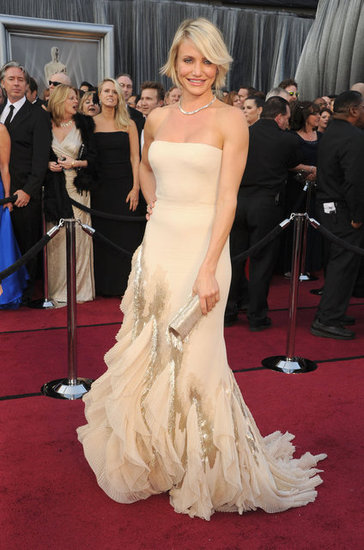 Cameron-Diaz-Pictures-Oscars-2012-gucci-dress
