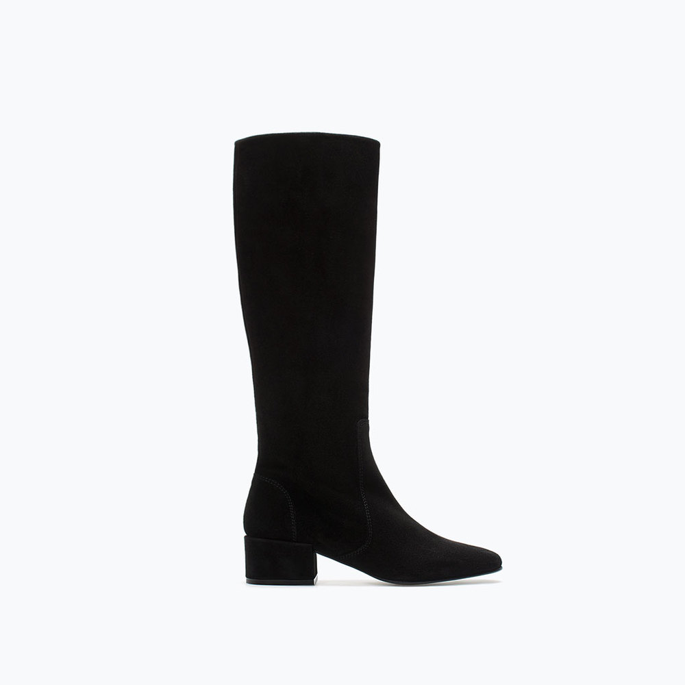 Zara Soft Leather Boot £69.99.