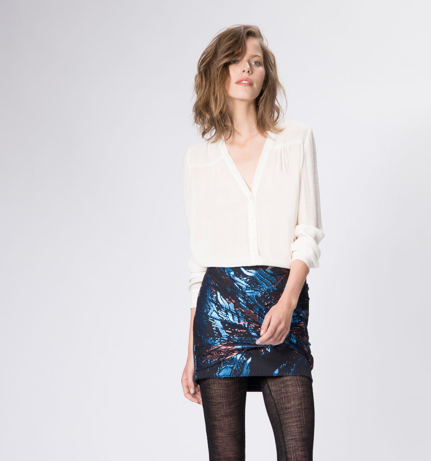 Maje - Gavela Blouse in Ecru £145