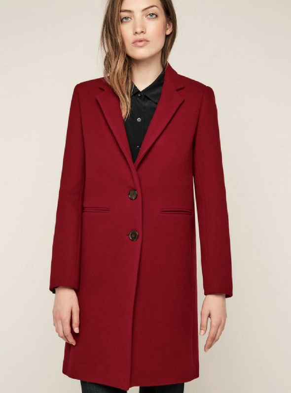 Gerard Darel Red Coat