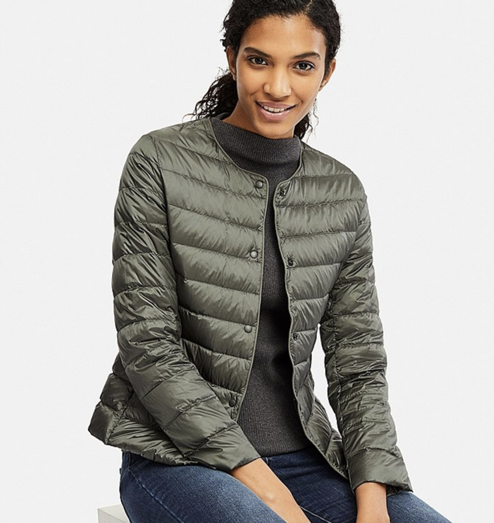 uniqlo jacket image consultant london