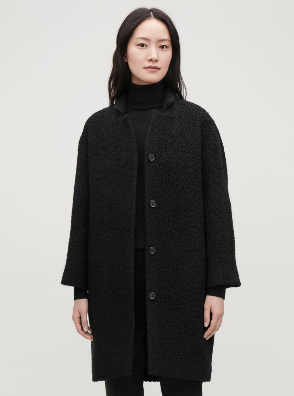 Lizzie Edwards London Stylist Cos_Black_Boucle_Coat.png