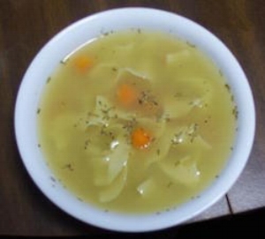 Chicken soup is just one of your Hot Eats lunch options!