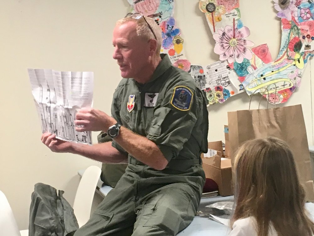 PCS Grandpa Jack Brehm is a retired pararescue jumper from the Air National Guard.