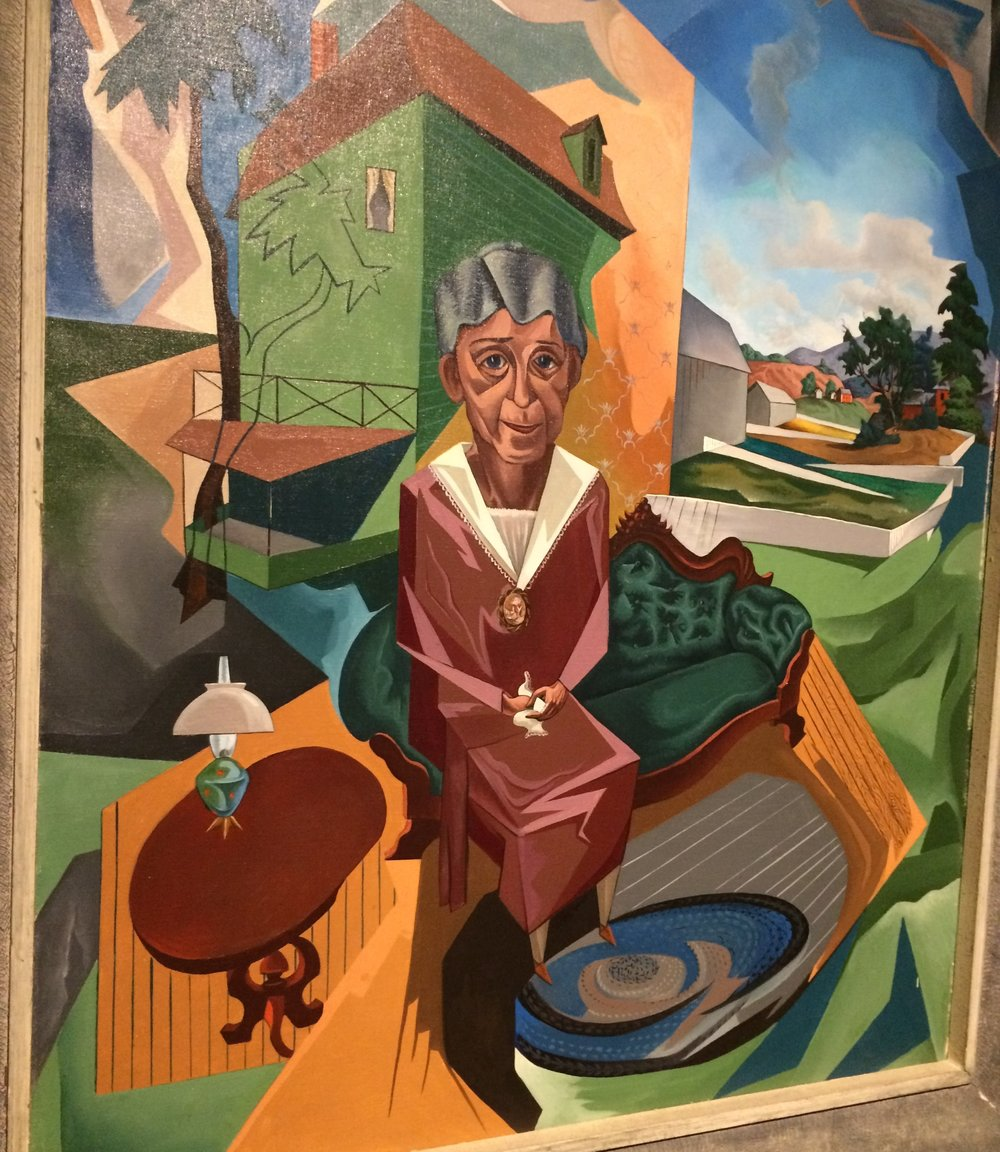 Francis colburn,  social security,  1947. From  Crash to creativity: the new deal in vermon t at the bennington museum.