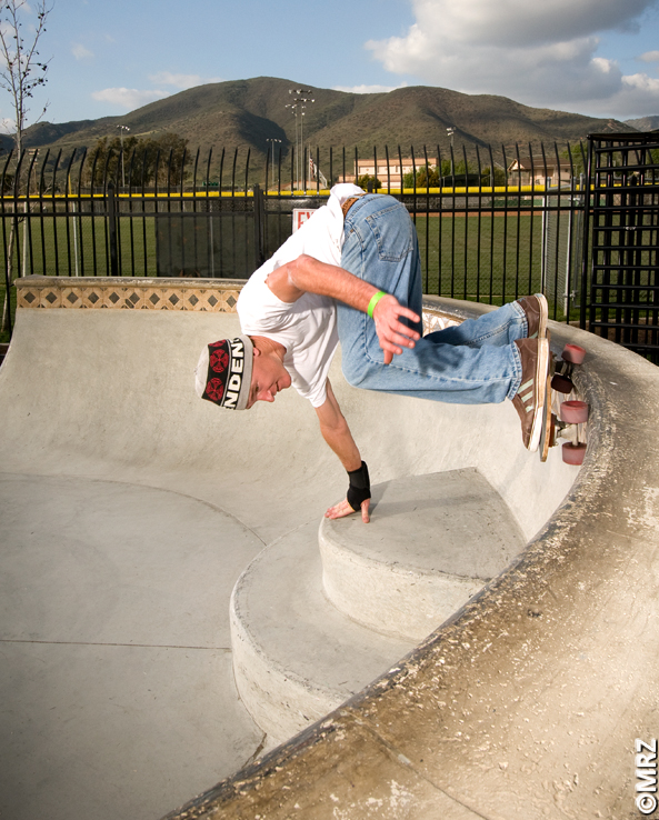 Pala Skateboard Park shallow end Bowl