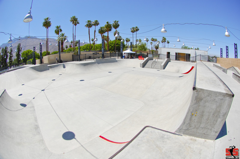 IE - Palm Springs Skatepark