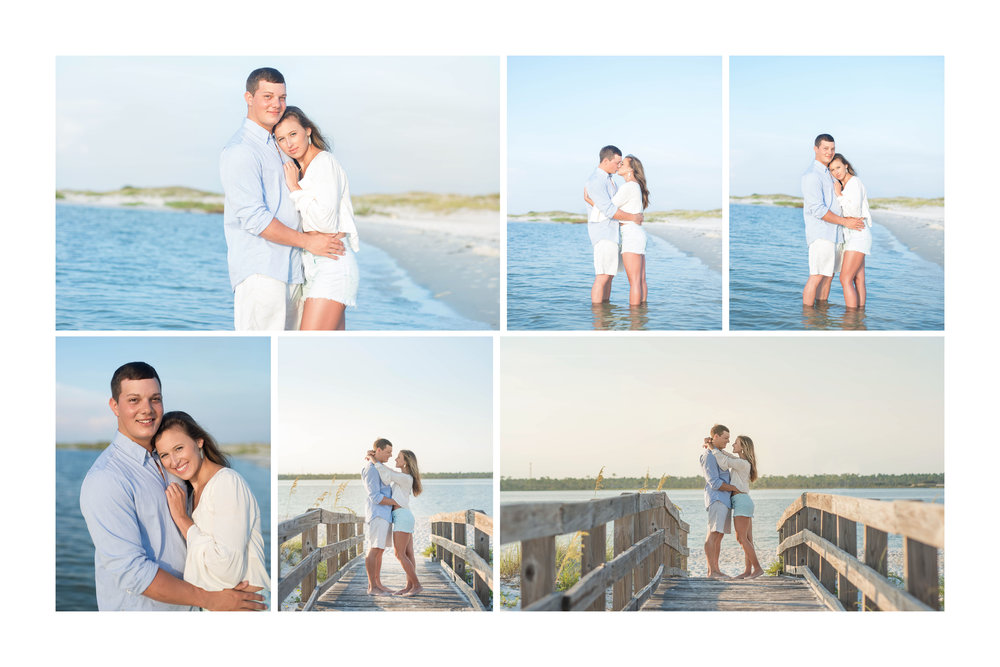 Gulf Coast Couple's Portrait Photography